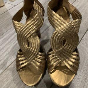 Franco Sarto Art Deco style heels